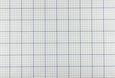 Papel de gráfico Imagem de Stock