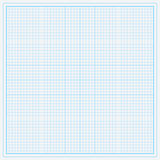 Papel de gráfico azul Fotografia de Stock