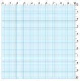 Papel de gráfico da engenharia Imagem de Stock