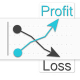 Papel de gráfico do negócio dos vetores Imagens de Stock