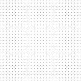 Papel de gráfico do papel do vetor da grade do ponto no fundo branco ilustração stock