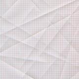 Papel de gráfico dobrado e vincado Imagem de Stock