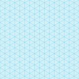 Papel de gráfico isométrico ilustração stock