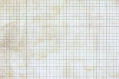 Papel de gráfico sujo Imagem de Stock Royalty Free