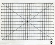 Papel de Gridline Imagenes de archivo