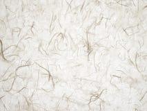 Papel de Japón del fondo con las inclusiones blancas Fotos de archivo libres de regalías