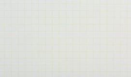 Papel de la escala de la rejilla del gráfico Fotografía de archivo libre de regalías