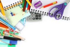 Papel de la escuela Imagen de archivo libre de regalías