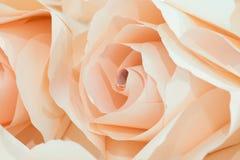 Papel de la flor para casarse el contexto Imagen de archivo