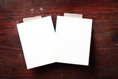 Papel de la foto Imágenes de archivo libres de regalías