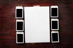 Papel de la foto Fotografía de archivo libre de regalías