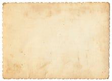 Papel de la foto de la vendimia Fotografía de archivo libre de regalías