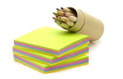 Papel de la nota imagen de archivo libre de regalías