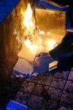 Papel de la quemadura Imágenes de archivo libres de regalías