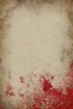 Papel de la sangre Fotos de archivo libres de regalías