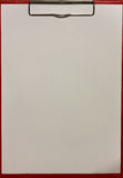 Papel de la textura y tablero rojo Imagen de archivo