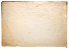 Papel de la vendimia Foto de archivo libre de regalías