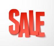 Papel de la venta. Vector. Fotos de archivo libres de regalías
