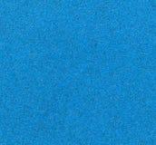 Papel de lija azul Imágenes de archivo libres de regalías
