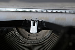 Papel de máquina de escribir retro Fotografía de archivo libre de regalías