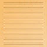 Papel de música Fotografía de archivo libre de regalías