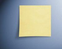 Papel de nota Imagens de Stock