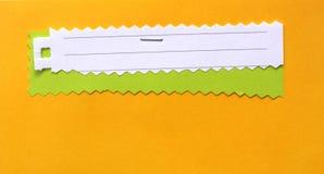 Papel de nota Fotografía de archivo