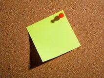 Papel de nota Fotografia de Stock