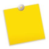 Papel de nota de post-it Imagen de archivo libre de regalías
