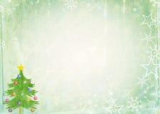 Papel de nota do Natal ilustração royalty free