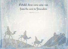 Papel de nota do Natal ilustração stock