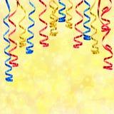 Papel de ondulação do córrego do partido Foto de Stock
