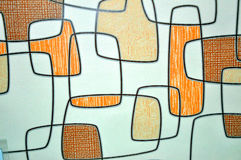 Papel de parede abstrato Imagem de Stock