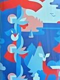 Papel de parede abstrato imagens de stock