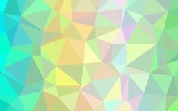 Papel de parede abstrato do polígono Imagem de Stock