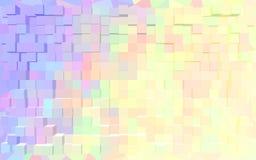 Papel de parede abstrato do teste padrão do bloco Foto de Stock Royalty Free