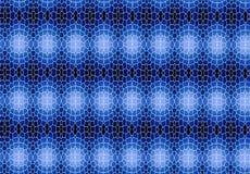 Papel de parede abstrato do teste padrão do bloco do preto azul Fotografia de Stock Royalty Free