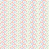 Papel de parede abstrato do teste padrão do círculo Imagem de Stock Royalty Free