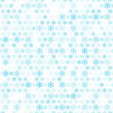 Papel de parede abstrato do teste padrão do floco da neve. Vetor Fotos de Stock Royalty Free