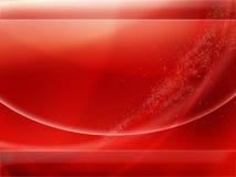 Papel de parede abstrato no vermelho ilustração royalty free