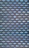 Papel de parede de alumínio tecido Imagens de Stock