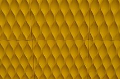 Papel de parede amarelo Fotos de Stock