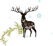 Papel de parede animal abstrato Imagem de Stock