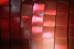 Papel de parede arquitetónico metálico abstrato Elegante Fotografia de Stock Royalty Free