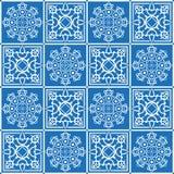Papel de parede azul Imagem de Stock