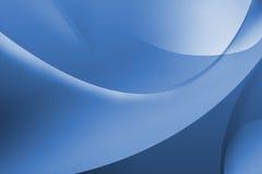 Papel de parede azul abstrato Fotografia de Stock Royalty Free