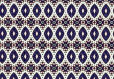 Papel de parede azul abstrato do teste padrão do bloco Foto de Stock Royalty Free
