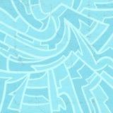 Papel de parede azul agradável ilustração royalty free