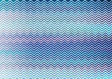 Papel de parede azul do teste padrão do ziguezague Imagens de Stock