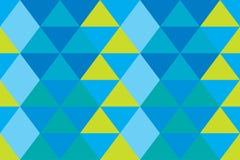 Papel de parede azul velho alaranjado do triângulo da bandeira da textura abstrata do fundo moderno Ilustração do Vetor